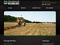 ENTREPRISES : Drainage agricole [ Drainage Richelieu ]